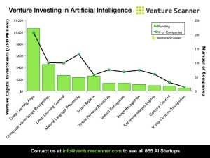 AI venture invest by categ