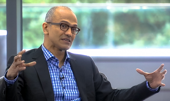 "Microsoft v Google & Apple: General Nadella: ""Mobile & Cloud for everyone & every device"""