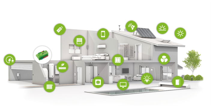Smart home-energy-3d