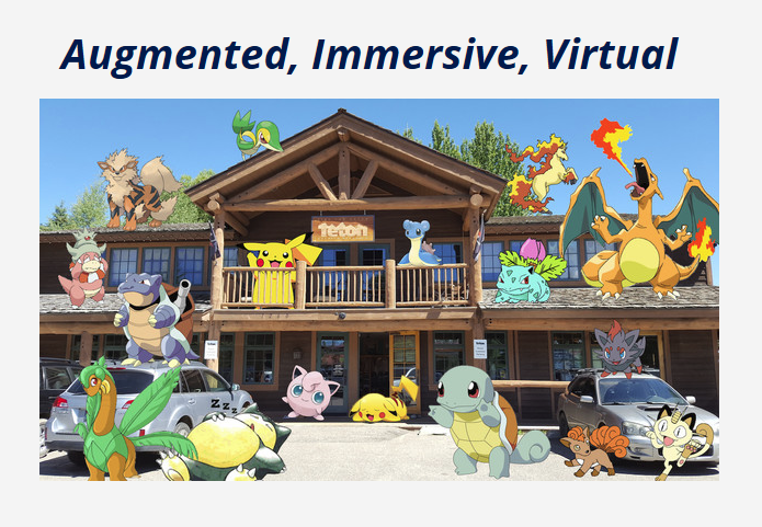 Augment, Immersive, Virtual